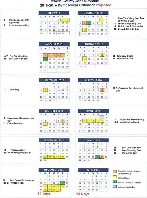 ... County School Calendar 2017 18. Updated: ...